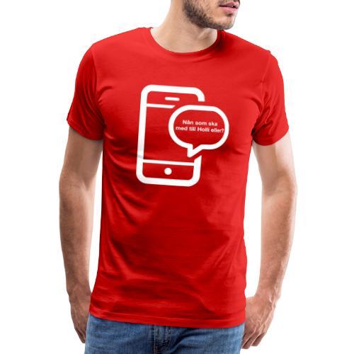 Holli - Premium-T-shirt herr