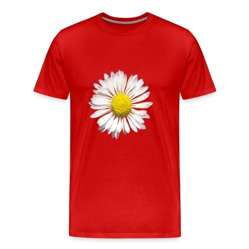 TIAN GREEN - Gänse Blümchen - Männer Premium T-Shirt
