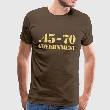 45-70 caliber ammo - Premium-T-shirt herr