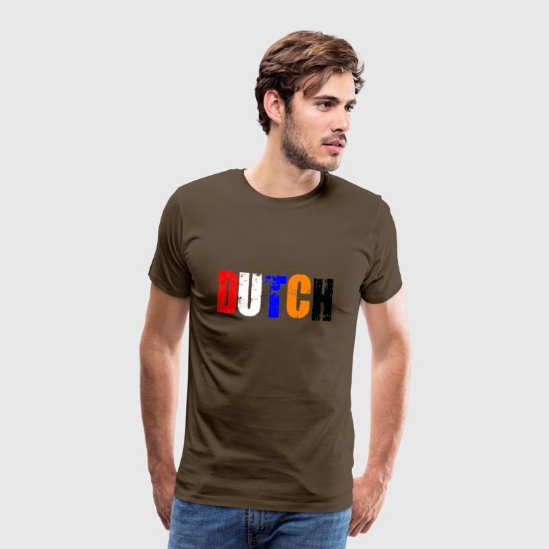 Colourful Dutch - Mannen Premium T-shirt