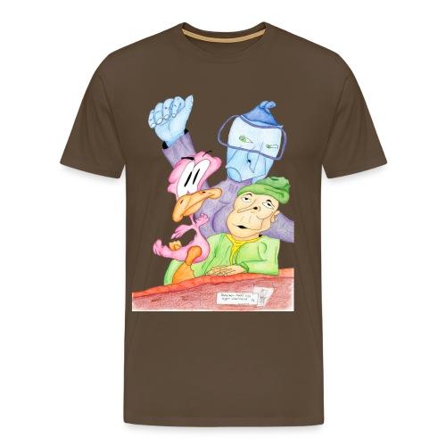 Iedereen heeft zijn eigen waarheid (1/2) - Mannen Premium T-shirt