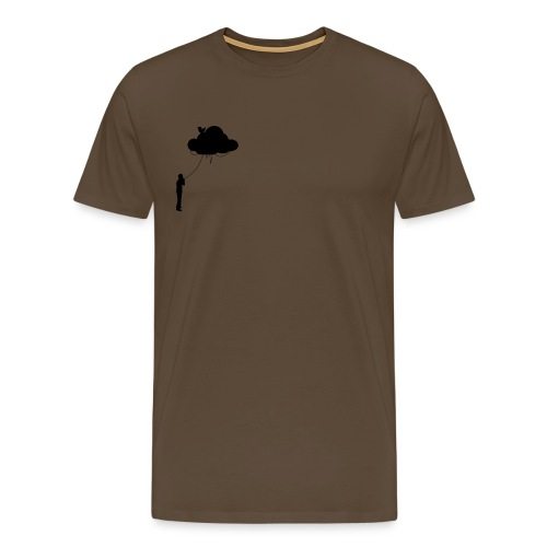 The Cloud BLACK - Men's Premium T-Shirt