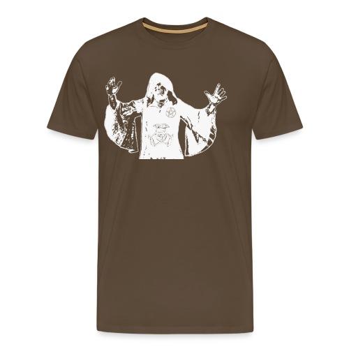 Druide der Weise - Männer Premium T-Shirt