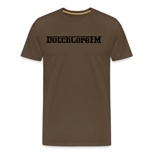 DutchCoreFM Logo Black - Men's Premium T-Shirt