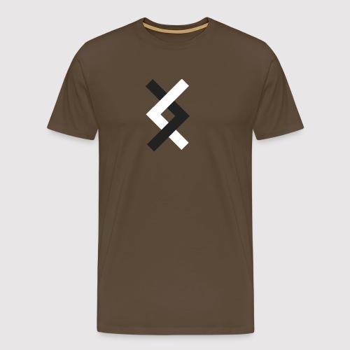 DANE - Black & White - Men's Premium T-Shirt