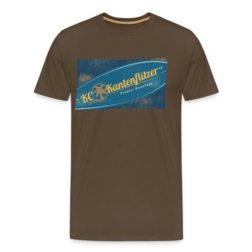 Kantenflitzer Beach - Männer Premium T-Shirt
