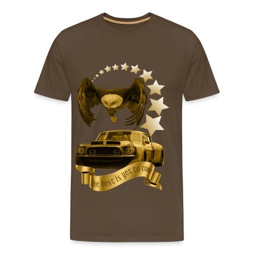 Das beste kommt noch gold - Männer Premium T-Shirt