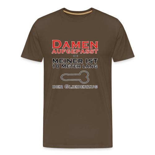 Damen aufgepasst - Männer Premium T-Shirt