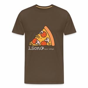 LSonG pizza pic - Männer Premium T-Shirt