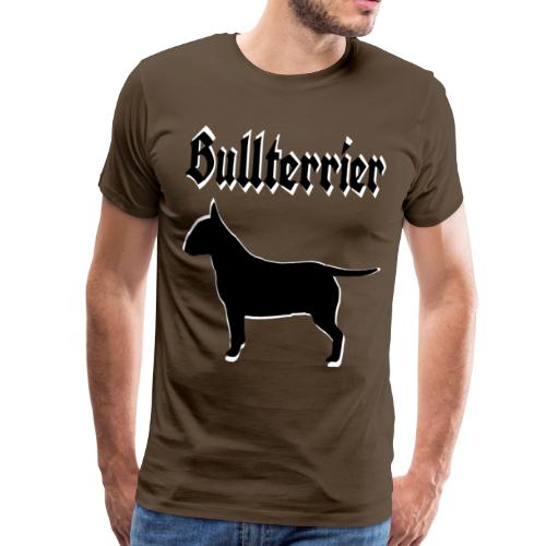 Bullterrier,Terrier,Bulldog,Bulldogge,Hundekopf, - Männer Premium T-Shirt