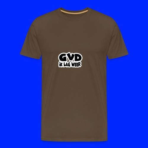 GVD ik lag weer - Mannen Premium T-shirt