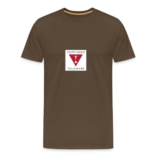 Drikkeflaske - Premium T-skjorte for menn
