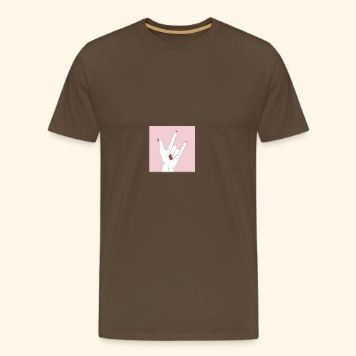 942F1BB4 DC3D 4487 ABF5 A8C0B9F58E76 - Männer Premium T-Shirt