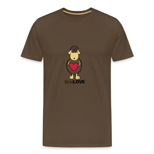 Schaf/Schäfchen/Love - Männer Premium T-Shirt