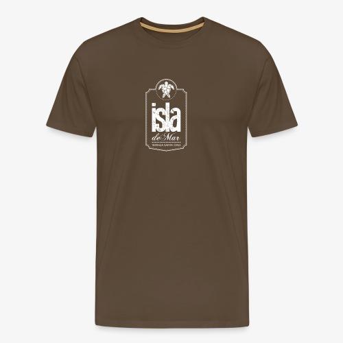 Logotipo White Isla de Mar - Camiseta premium hombre