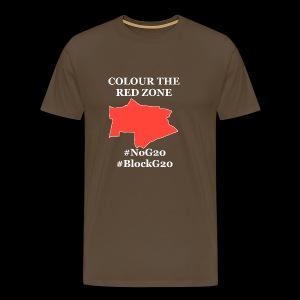 Colour the red Zone - Männer Premium T-Shirt