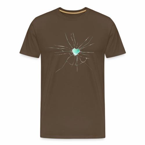 Coeur Brisé - T-shirt Premium Homme