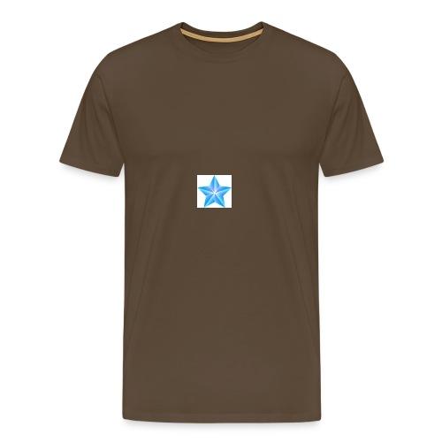 blue themed christmas star 0515 1012 0322 4634 SMU - Men's Premium T-Shirt