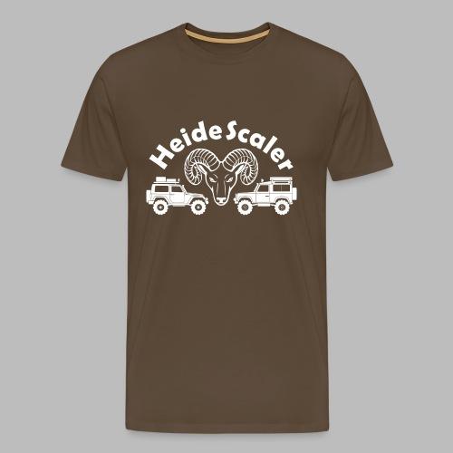 Heide Scaler white HQ - Männer Premium T-Shirt