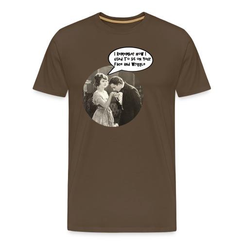 Volume2 - I Remember How I Used to Sit... - Männer Premium T-Shirt