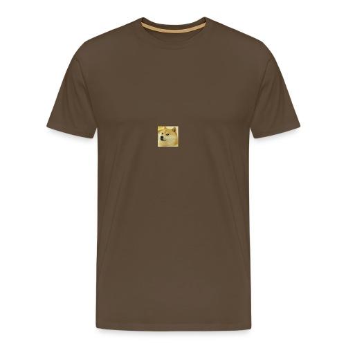 dogee - Premium-T-shirt herr