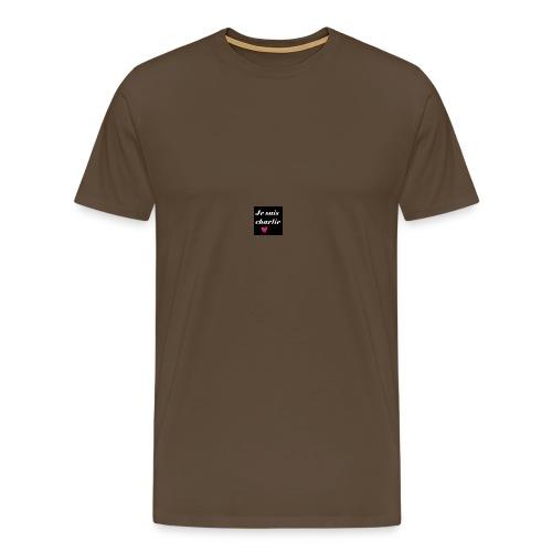 je suis charlie - T-shirt Premium Homme