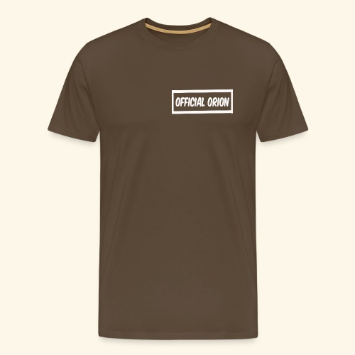 Official Orion Box Logo - Men's Premium T-Shirt