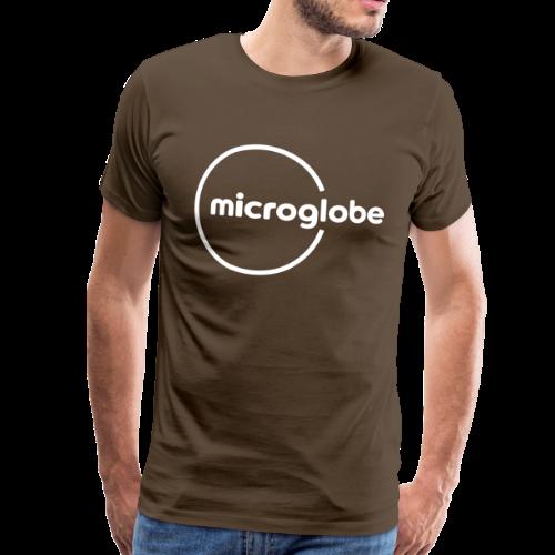 microglobe Logo - Männer Premium T-Shirt