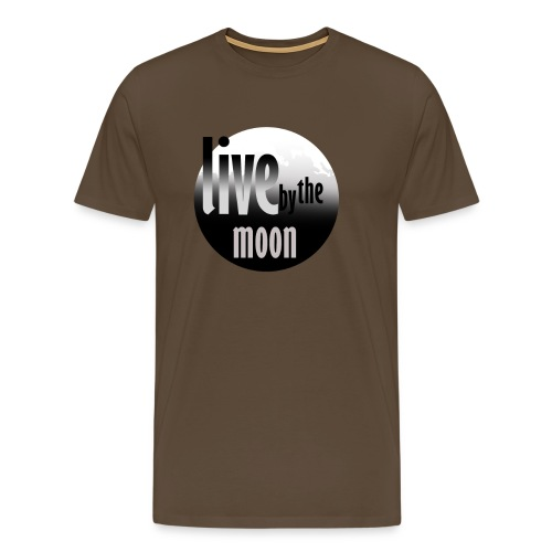 the moon - T-shirt Premium Homme