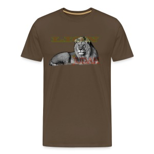 Lrg Judah Tribal Gears - Men's Premium T-Shirt