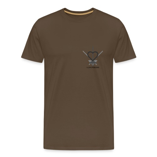 I love fencing - Männer Premium T-Shirt
