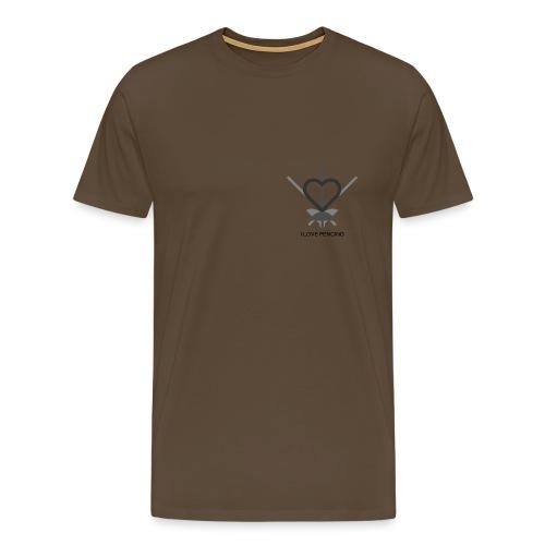 Ich liebe Fechten - Männer Premium T-Shirt