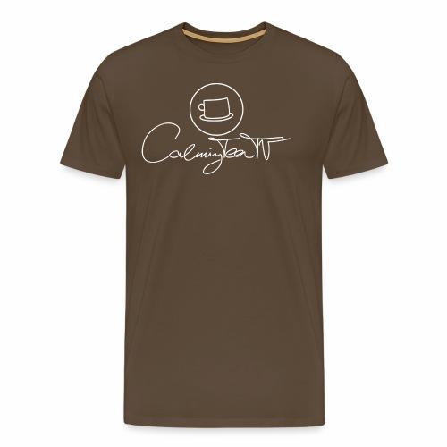 CalmingTeaTV Basic #2w - Männer Premium T-Shirt