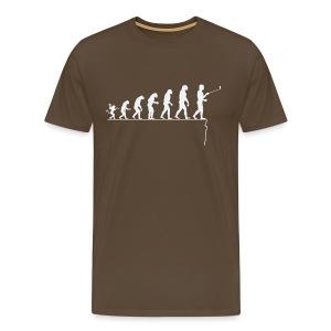 Evolution de l'homme: à trop se regarder...... - T-shirt Premium Homme