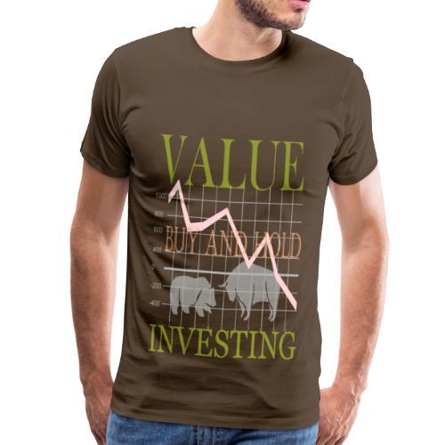 Börse. - Männer Premium T-Shirt