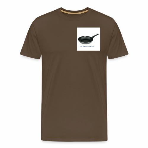 #wij bakken er niks van - Mannen Premium T-shirt