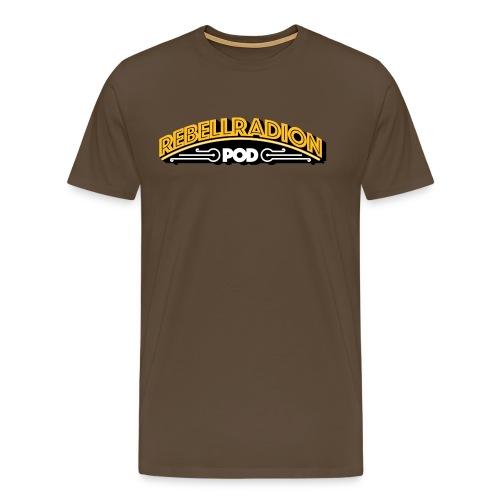 rebellradion logo 2017 - Premium-T-shirt herr