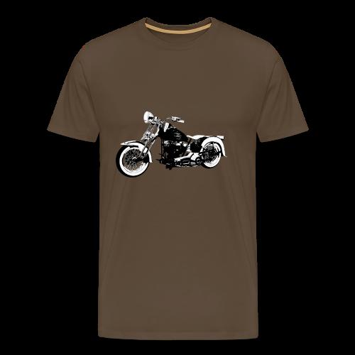 Classic motorbike 1936 EL - Men's Premium T-Shirt