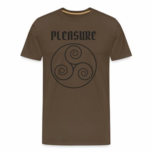 BDSM Triskele Pleasure - Männer Premium T-Shirt