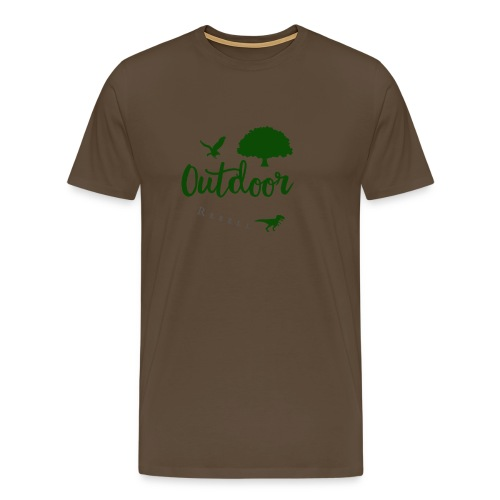 Outdoor Rebell - Männer Premium T-Shirt