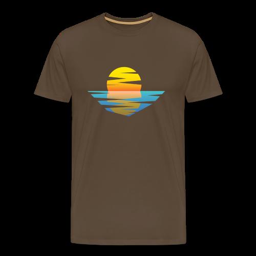 Sunset - Männer Premium T-Shirt
