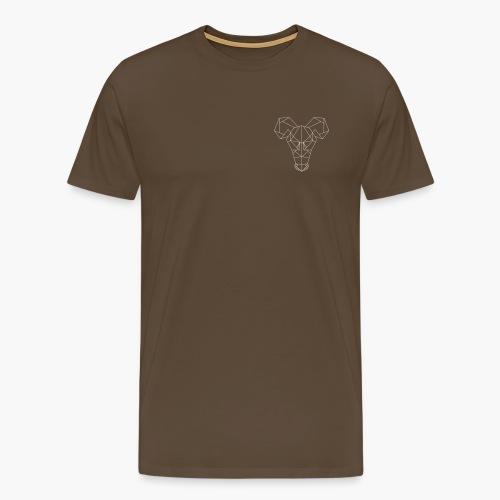 Rat's Head - Mannen Premium T-shirt