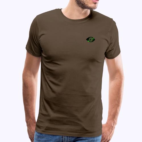 Occhio del destino verde - Maglietta Premium da uomo