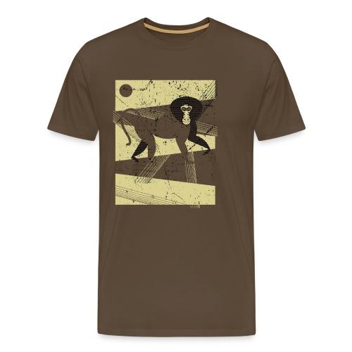Ethiopian Baboon - Maglietta Premium da uomo
