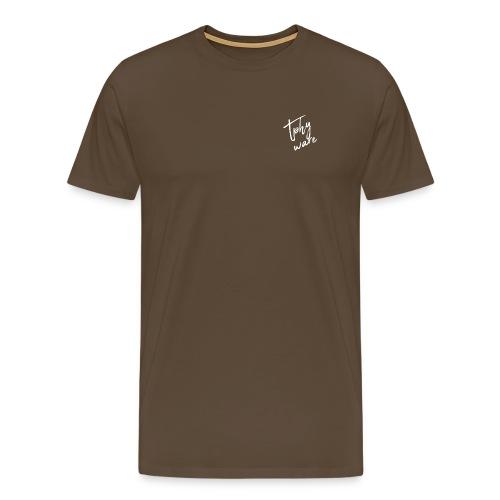 Tphyware White - Männer Premium T-Shirt
