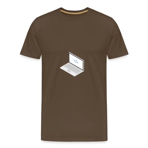 Laptop - Männer Premium T-Shirt