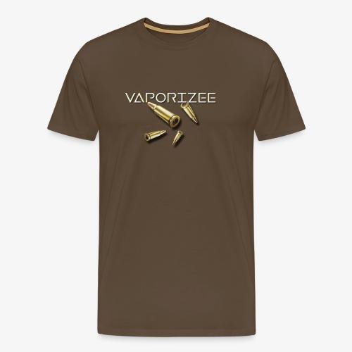 Vaporizee Merch   Juni 2018   Bullet Drop - Männer Premium T-Shirt