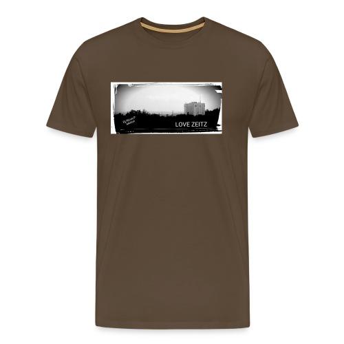 Zeitzer Skyline - Männer Premium T-Shirt