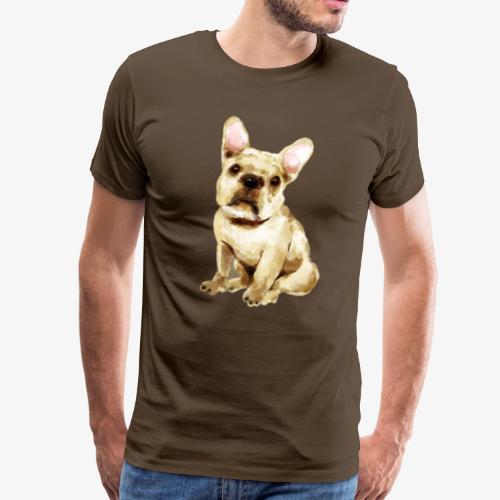 Französische Bulldogge I geliebter Frenchi - Männer Premium T-Shirt