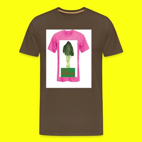 Addids Brocolo - Premium T-skjorte for menn